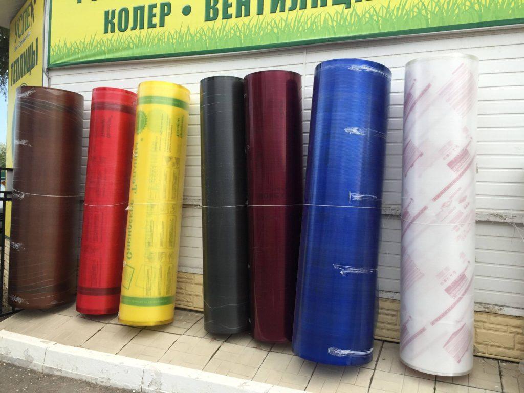 Разноцветный Поликарбонат, желтый синий белый коричневый черный купить в смоленске в городе мастеров
