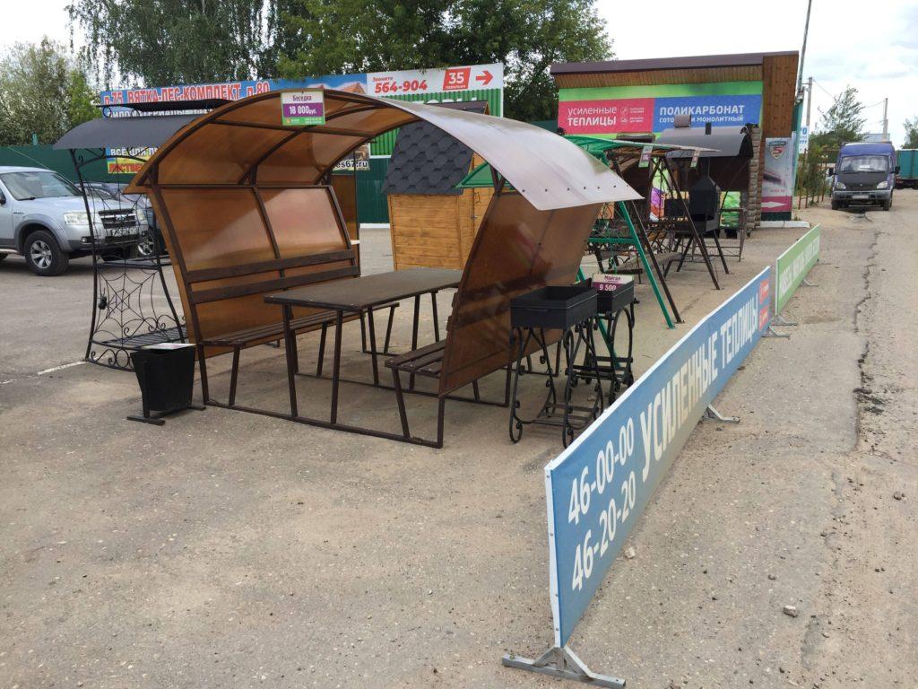 Беседка из поликарбоната, усиленные теплицы из поликарбоната купить в смоленске в городе мастеров