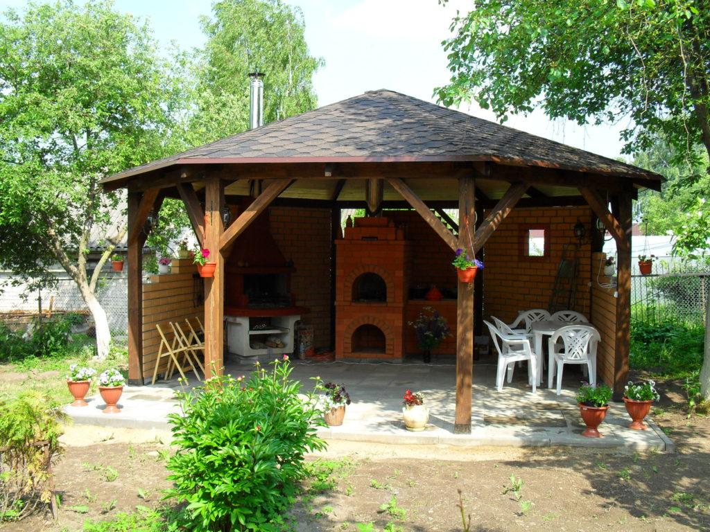 Деревянная беседка купить в Смоленске
