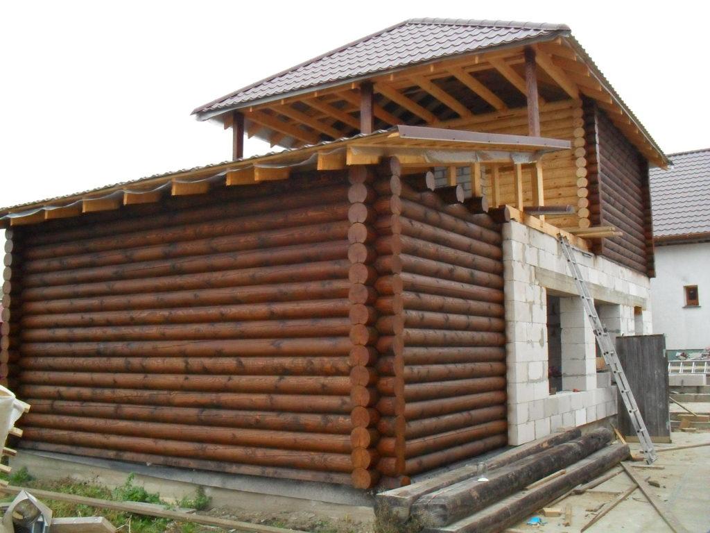 Дома и бани и з бруса в Городе мастеров