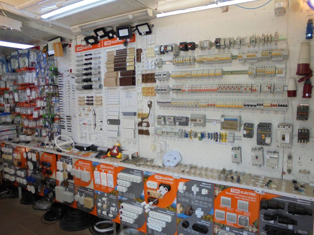 Электрика ассортимент в смоленске.